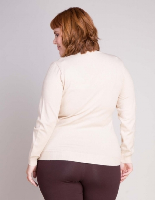 Suéter Plus Size Basic - Palank