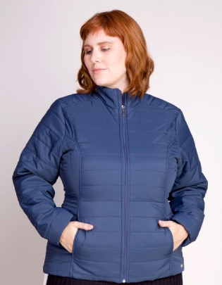 Jaqueta Puffer Plus Size Light