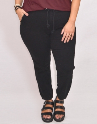 Calça Jogging Plus Size Black - Palank