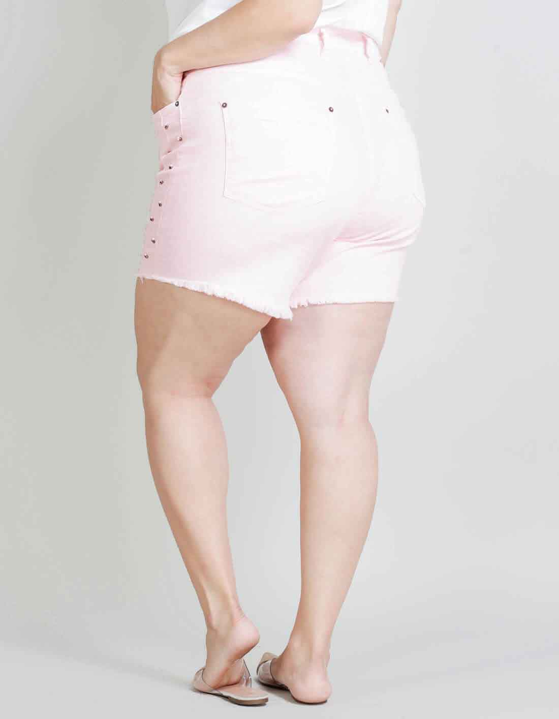 Shorts Plus Size com Bordado - Palank